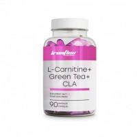 IronFlex L-carnitine + CLA + Green Tea 90caps